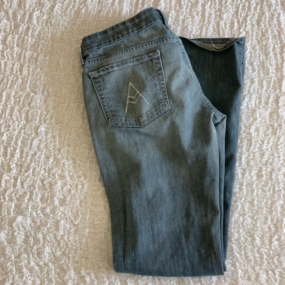 7 For All Mankind Denim - 7 for all mankind light wash boot cut jeans - 29